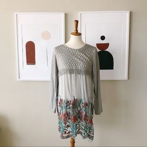 Simply Couture Embroidered Dress Size Large